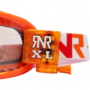 Rip n Roll Colossus XL Roll Off Goggles - Orange Image 4