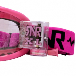 Rip n Roll Colossus XL Roll Off Goggles - Pink Image 4