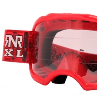 Rip n Roll Colossus XL Roll Off Goggles - Red Image 2