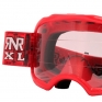 Rip n Roll Colossus XL Roll Off Goggles - Red