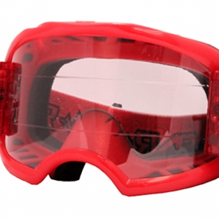 Rip n Roll Colossus XL Roll Off Goggles - Red Image 3