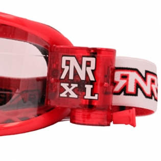 Rip n Roll Colossus XL Roll Off Goggles - Red Image 4