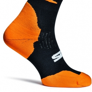 Sidi Faenza Socks - Orange Fluo Image 4