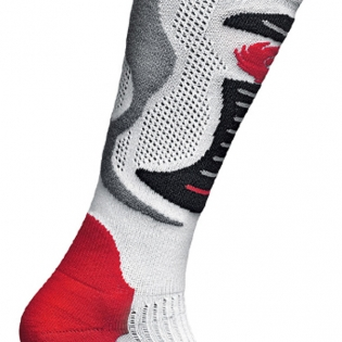 Sidi Faenza Socks - White Red Black Image 3