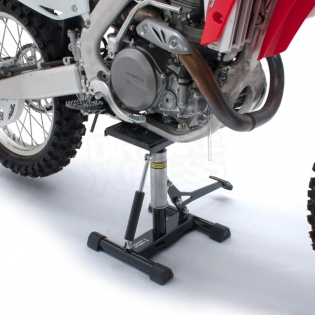 Unit Lift Stand Wide with Damper - Black Silver Image 3