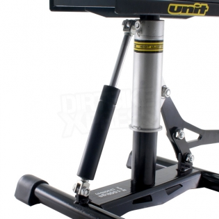 Unit Lift Stand Wide with Damper - Black Silver Image 4