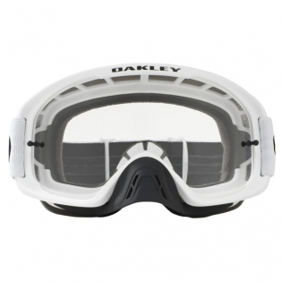 Oakley O Frame 2.0 Goggles - Matte White Clear Image 2