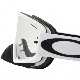 Oakley O Frame 2.0 Goggles - Matte White Clear Image 3