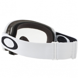 Oakley O Frame 2.0 Goggles - Matte White Clear Image 4