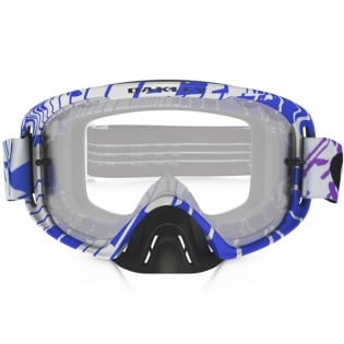 Oakley O Frame 2.0 Goggles - Rushmore Purple Blue Clear Image 2