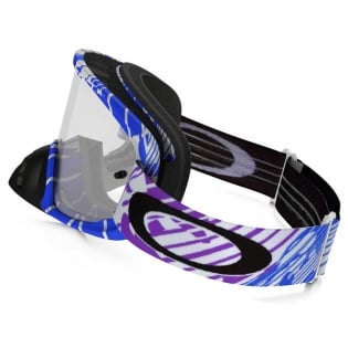 Oakley O Frame 2.0 Goggles - Rushmore Purple Blue Clear Image 3