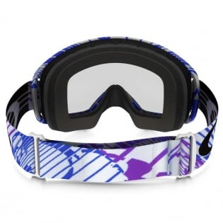Oakley O Frame 2.0 Goggles - Rushmore Purple Blue Clear Image 4