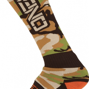 ONeal MX Boot Socks - Woods Camo Image 3