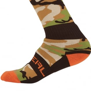 ONeal MX Boot Socks - Woods Camo Image 4