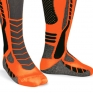 Acerbis X-Leg Pro Knee Brace Socks - Black Orange