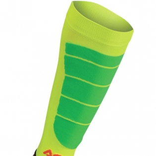 Acerbis Impact Motocross Socks - Orange Yellow Image 2