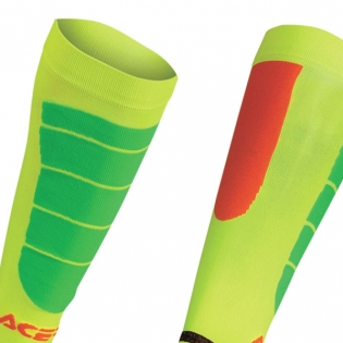 Acerbis Impact Motocross Socks - Orange Yellow Image 4