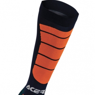 Acerbis Impact Motocross Socks - Blue Orange Image 2