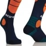 Acerbis Impact Motocross Socks - Blue Orange