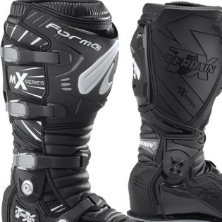 Forma Terrain TX 2.0 Motocross Boots - Black Image 2