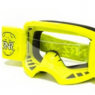 Rip n Roll Colossus WVS Roll Off Goggles - Neon Yellow Image 2