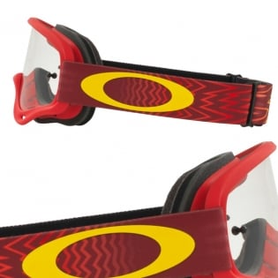 Oakley Kids XS O Frame Goggles - Shockwave Red Yellow Image 3