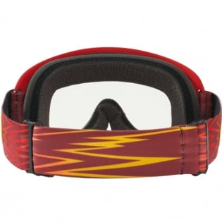 Oakley Kids XS O Frame Goggles - Shockwave Red Yellow Image 4