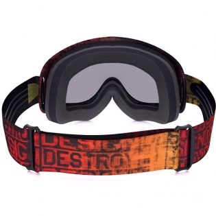Oakley O Frame Goggles - Distress Tagline Red Yellow Image 4