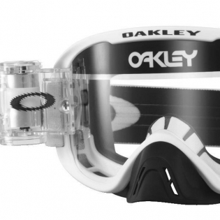 Oakley O Frame 2.0 Roll Off Goggles - Matte White Clear Image 2
