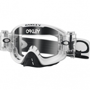 Oakley O Frame 2.0 Roll Off Goggles - Matte White Clear Image 3