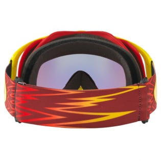 Oakley Crowbar Goggles - Shockwave Red Yellow 24K Iridium Image 2