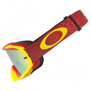 Oakley Crowbar Goggles - Shockwave Red Yellow 24K Iridium Image 3