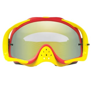 Oakley Crowbar Goggles - Shockwave Red Yellow 24K Iridium Image 4