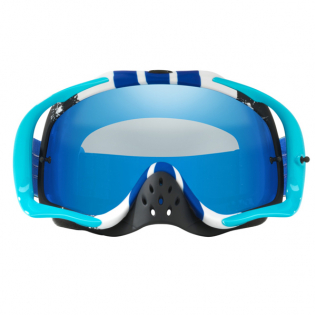 Oakley Crowbar Goggles - Pinned Race Blue White Iridium Image 4