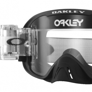 Oakley O Frame 2.0 Roll Off Goggles - Matte Black Clear Image 2