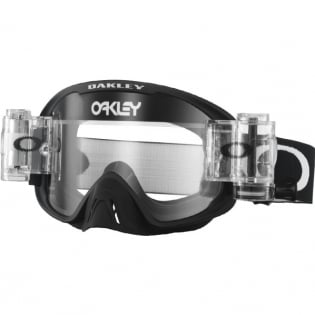 Oakley O Frame 2.0 Roll Off Goggles - Matte Black Clear Image 3