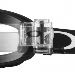 Oakley O Frame 2.0 Roll Off Goggles - Matte Black Clear Image 4