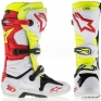 Alpinestars Tech 10 Boots - White Red Neon Yellow