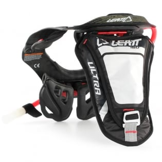Leatt Ultra 750 HF Hydration Pack - Black White Image 3