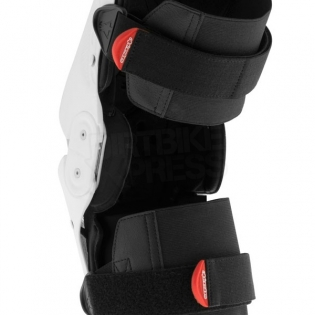 Alpinestars SX1 Knee Guards - White Black Image 4