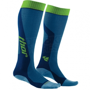 Thor MX Cool Socks - Blue Green Image 3