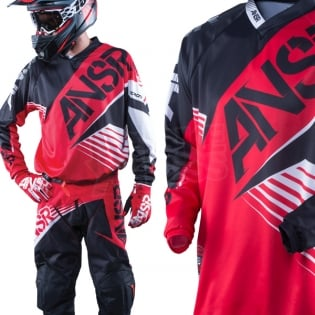 2016 Answer Syncron Jersey - Red Black White Image 2