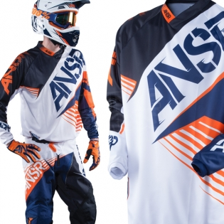 2016 Answer Syncron Jersey - White Black Orange Image 2