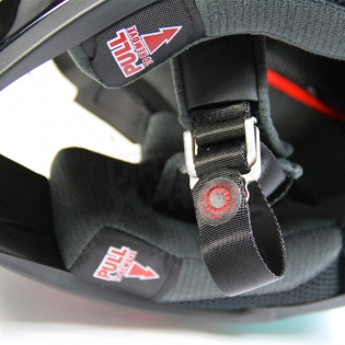 Bell Moto 9 Carbon Flex Helmet - Strapped Yellow Red Image 2