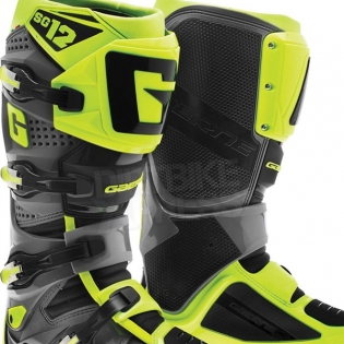 Gaerne SG12 Motocross Boots - Neon Yellow Black Image 2