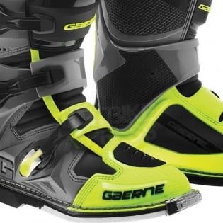Gaerne SG12 Motocross Boots - Neon Yellow Black Image 4