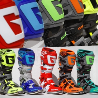 Gaerne SG12 Motocross Boots - Orange Black Image 3