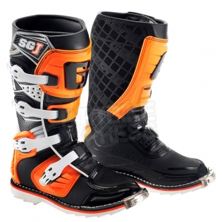 Gaerne SGJ Kids Boots - Black Orange Image 3