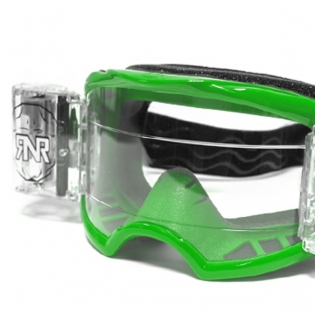 Rip n Roll Colossus WVS Roll Off Goggles - Green Image 2