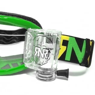 Rip n Roll Colossus WVS Roll Off Goggles - Green Image 4